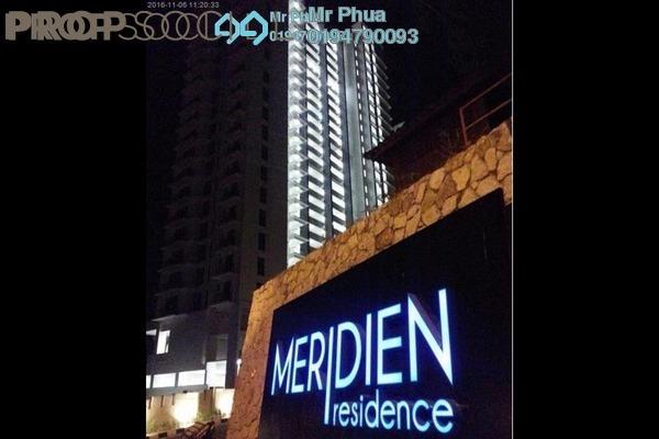For Rent Condominium at Meridien Residence, Sungai Ara Freehold Unfurnished 3R/2B 1.2k