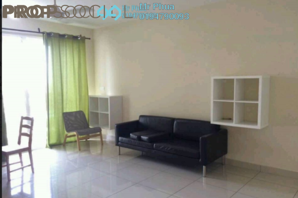 For Rent Condominium at Ocean View Residences, Butterworth Freehold Semi Furnished 3R/2B 1.3k