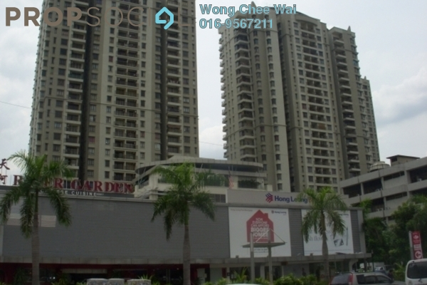 For Rent Condominium at Rivercity, Sentul Freehold Fully Furnished 3R/2B 2.0千