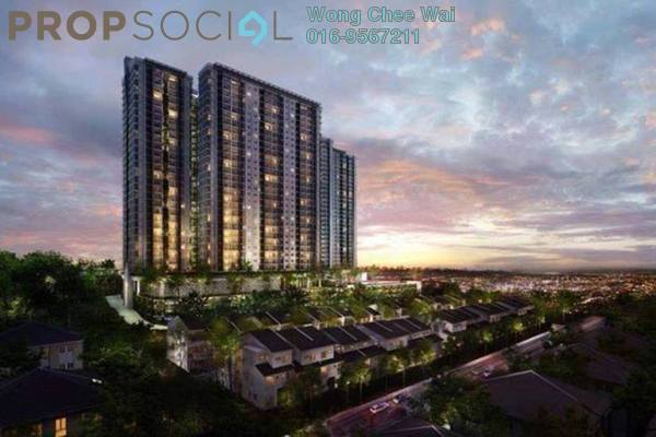 For Sale Condominium at Scenaria, Segambut Leasehold Unfurnished 4R/3B 710k
