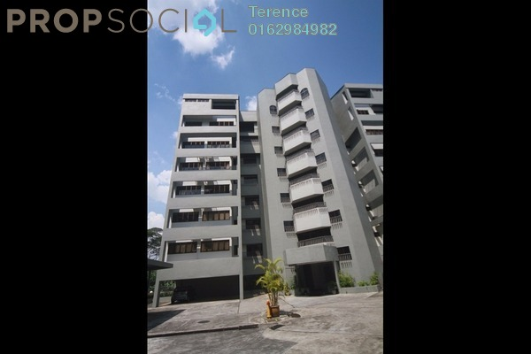 For Rent Condominium at Merak Kayangan, Bangsar Freehold Semi Furnished 3R/2B 6.5k