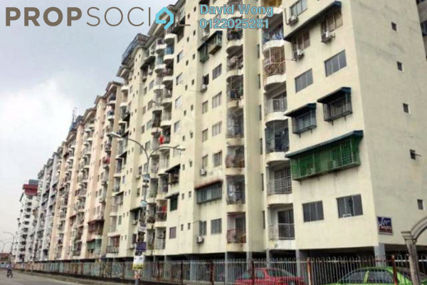 For Sale Apartment at City Heights Apartment, Kajang Freehold Unfurnished 3R/2B 185k