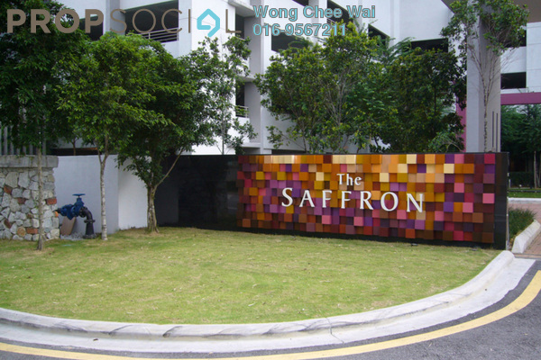 For Sale Condominium at The Saffron, Sentul Freehold Semi Furnished 3R/2B 710.0千