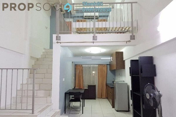 For Rent Condominium at Axis SoHu, Pandan Indah Leasehold Semi Furnished 0R/1B 1.5k