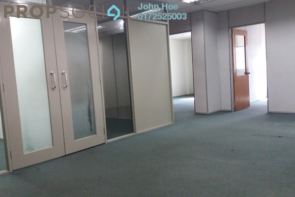For Rent Office at Wisma UOA II, KLCC Freehold Semi Furnished 3R/1B 4.1k