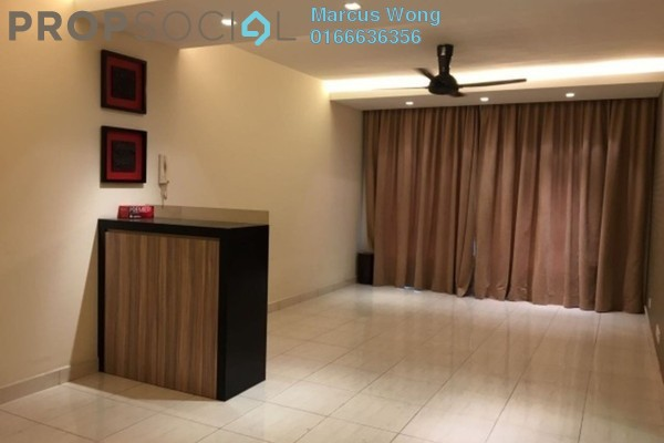 For Rent Condominium at Green Avenue, Bukit Jalil Freehold Semi Furnished 4R/2B 1.6k