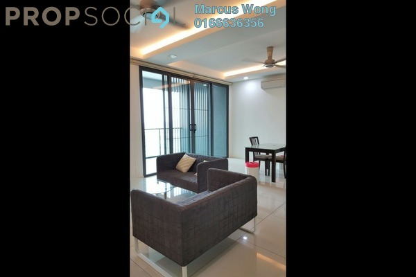 For Rent Condominium at The Treez, Bukit Jalil Freehold Fully Furnished 3R/3B 2.8k