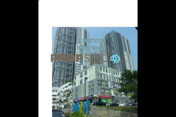 For Sale Condominium at The Wharf, Puchong Leasehold Semi Furnished 3R/2B 520k