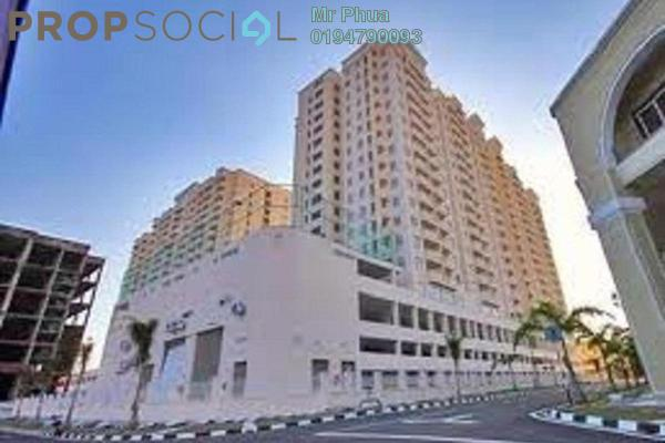 For Rent Apartment at D'Piazza Condominium, Bayan Baru Freehold Unfurnished 3R/2B 1.1k