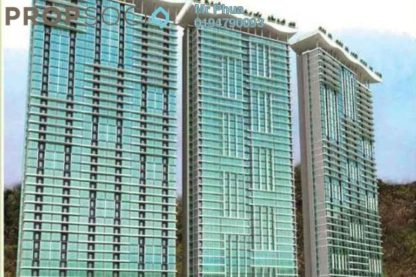 For Rent Condominium at The Peak Residences, Tanjung Tokong Freehold Fully Furnished 3R/2B 2.2k