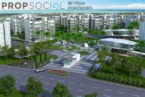 For Rent Apartment at Ferringhi Residence, Batu Ferringhi Freehold Fully Furnished 3R/4B 2.8k