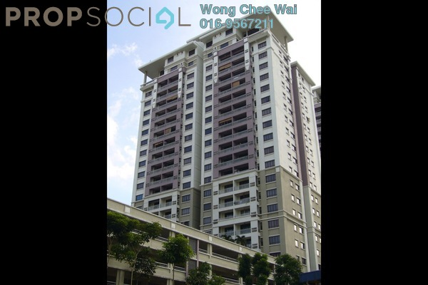 For Sale Condominium at Casa Kiara I, Mont Kiara Freehold Semi Furnished 3R/2B 770k