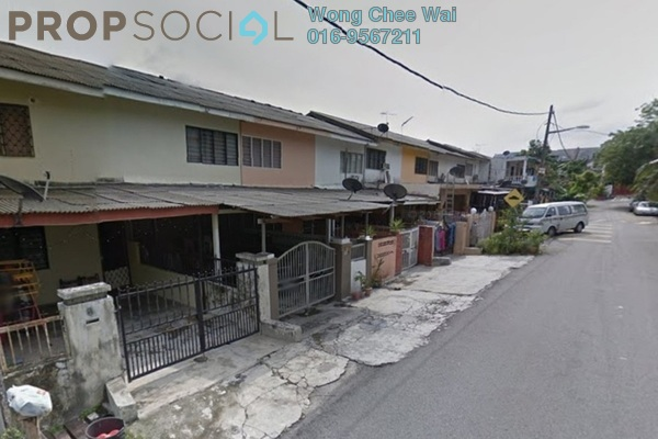For Sale Terrace at Taman Muda, Pandan Indah Leasehold Semi Furnished 3R/2B 360k