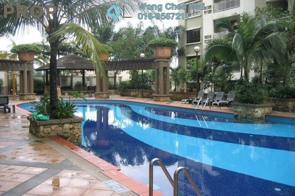 For Sale Condominium at Casa Kiara I, Mont Kiara Freehold Fully Furnished 3R/2B 720k