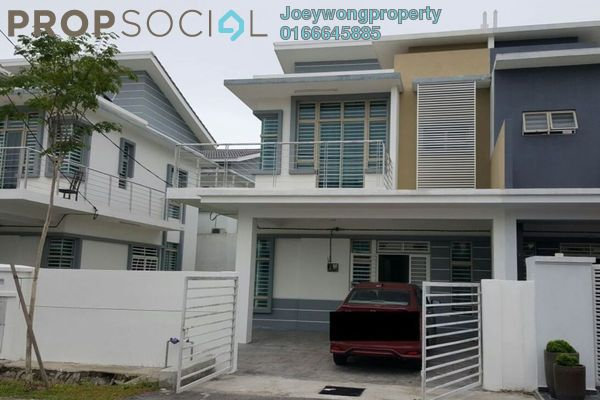 For Rent Semi-Detached at BSP Skypark, Bandar Saujana Putra Leasehold Semi Furnished 4R/3B 1.5k