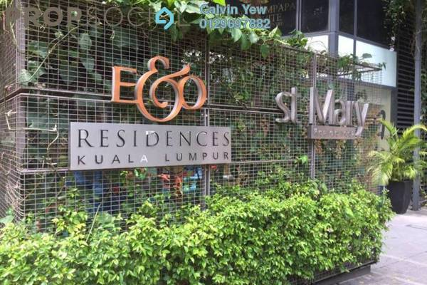 For Rent Condominium at St Mary Residences, KLCC Freehold Fully Furnished 3R/2B 6.5k