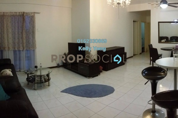 For Rent Condominium at City Garden Palm Villa, Pandan Indah Leasehold Fully Furnished 3R/2B 1.65k
