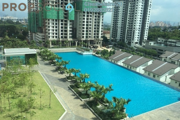 For Sale Condominium at Scenaria, Segambut Freehold Semi Furnished 3R/3B 810k
