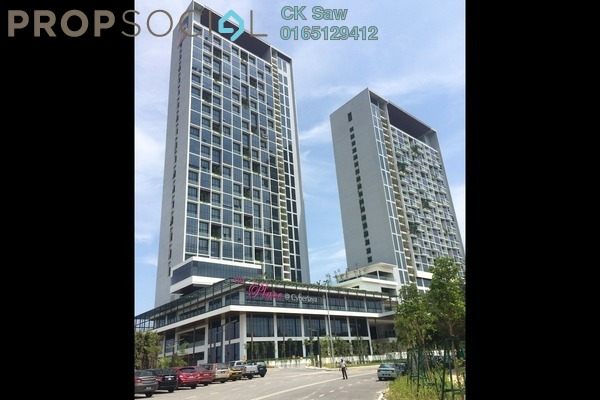 For Sale Condominium at The Place, Cyberjaya Freehold Fully Furnished 1R/1B 328k