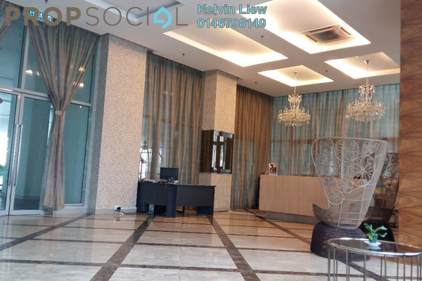 For Sale Condominium at Regalia @ Jalan Sultan Ismail, Kuala Lumpur Freehold Fully Furnished 2R/2B 680k