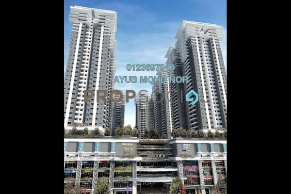 For Rent Condominium at Maxim Citilights, Sentul Leasehold Unfurnished 3R/2B 1.2k