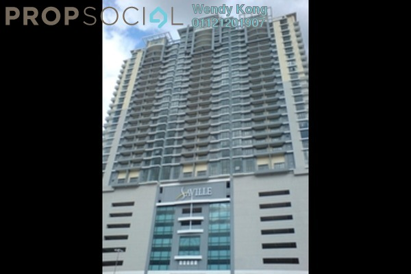 For Rent Condominium at Saville Residence, Old Klang Road Freehold Fully Furnished 1R/1B 1.6k