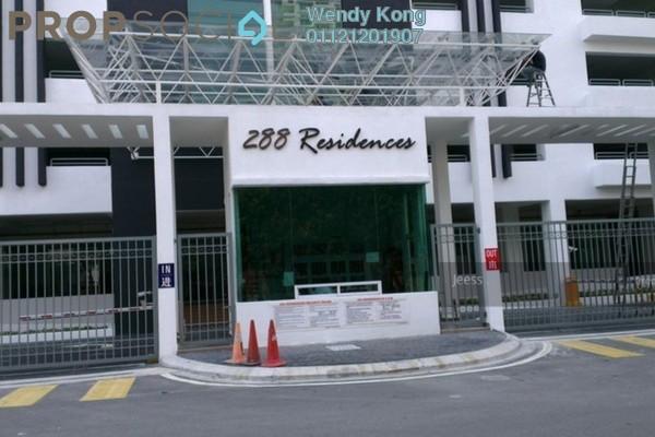 For Rent Condominium at 288 Residences, Kuchai Lama Freehold Semi Furnished 3R/2B 2k
