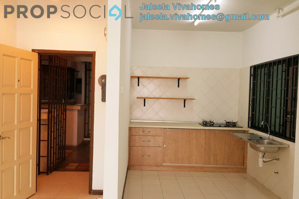 For Rent Condominium at Puri Aiyu, Shah Alam Freehold Semi Furnished 3R/2B 1.4k