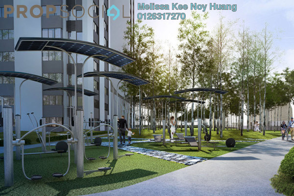 For Rent Condominium at Encorp Strand Residences, Kota Damansara Leasehold Fully Furnished 1R/1B 1.9k