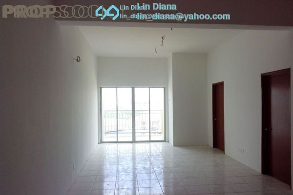 For Rent Apartment at Suria Residence, Bandar Mahkota Cheras Freehold Unfurnished 3R/2B 1.3k