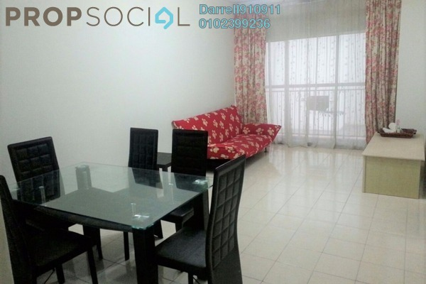 For Rent Condominium at Plaza Medan Putra, Bandar Menjalara Freehold Fully Furnished 3R/2B 1.3k