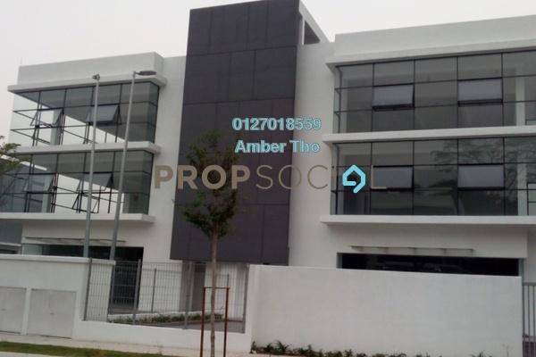 For Rent Semi-Detached at Budiman Business Park, Bandar Sungai Long Freehold Unfurnished 8R/8B 14.9k
