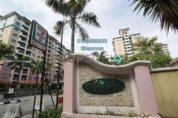 For Rent Condominium at Arena Green, Bukit Jalil Freehold Semi Furnished 2R/1B 1.3k