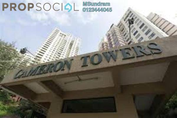 For Rent Condominium at Cameron Towers, Gasing Heights Freehold Semi Furnished 3R/2B 2.2k