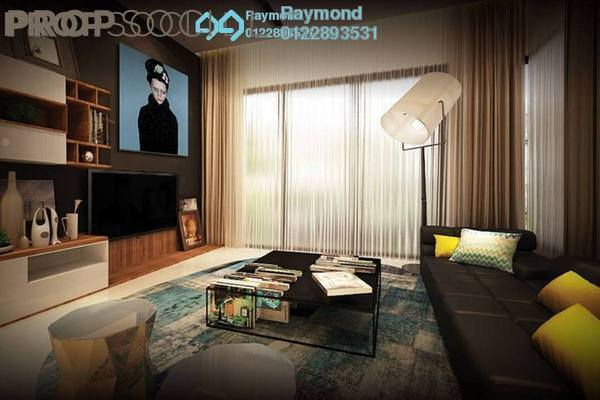 For Sale Condominium at Parkhill Residence, Bukit Jalil Leasehold Unfurnished 3R/2B 611k
