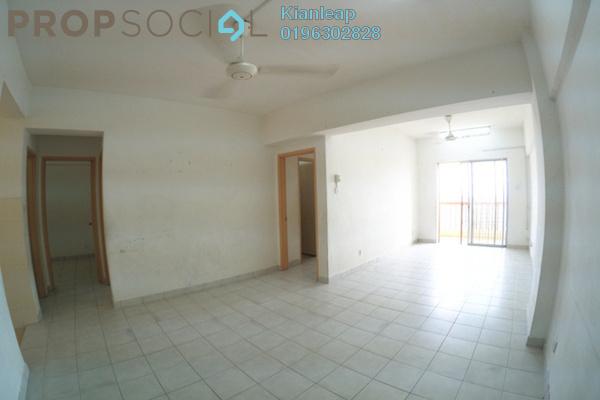 For Rent Apartment at Sri Ixora Apartment, Kajang Freehold Semi Furnished 3R/2B 1.15k