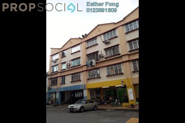 For Rent Apartment at Taman Pusat Kepong, Kepong Leasehold Semi Furnished 3R/2B 950translationmissing:en.pricing.unit