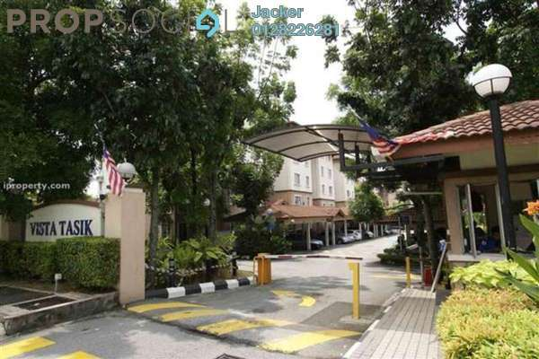 For Rent Condominium at Vista Tasik, Bandar Sri Permaisuri Freehold Fully Furnished 3R/2B 1.7k