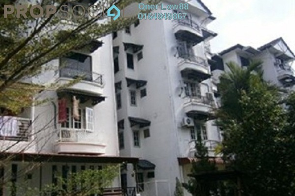 For Rent Apartment at Villa Condominium, Relau Freehold Fully Furnished 3R/2B 1k