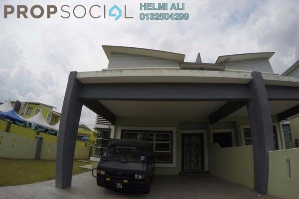 For Sale Semi-Detached at Bandar Warisan Puteri, Seremban Freehold Semi Furnished 4R/5B 550k