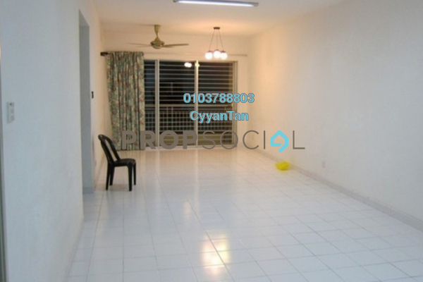 For Rent Apartment at Plaza Prima Setapak, Setapak Leasehold Semi Furnished 3R/2B 1.4k