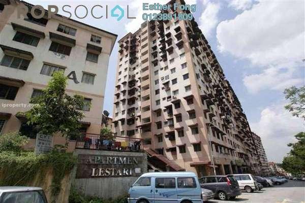 For Rent Apartment at Lestari Apartment, Damansara Damai Leasehold Semi Furnished 3R/2B 600translationmissing:en.pricing.unit