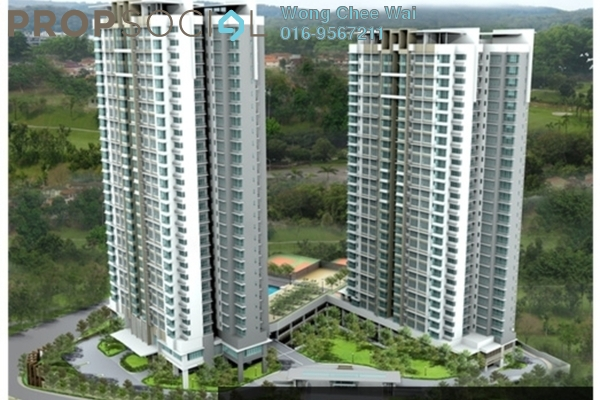 For Sale Condominium at KM1, Bukit Jalil Freehold Unfurnished 4R/3B 825k