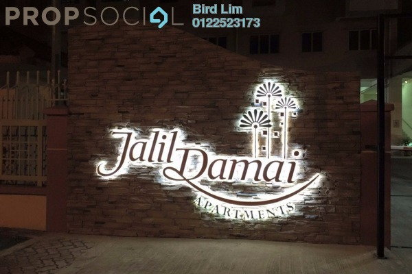 For Rent Condominium at Jalil Damai, Bukit Jalil Freehold Fully Furnished 2R/2B 1.59k