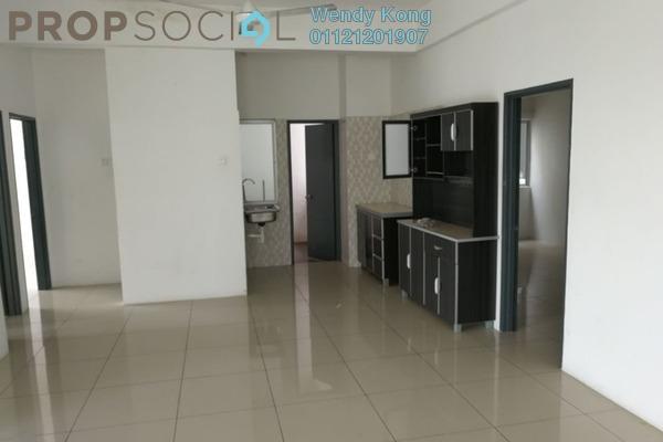 For Rent Condominium at Mahkota Garden Condominium, Bandar Mahkota Cheras Freehold Semi Furnished 4R/3B 1.3k
