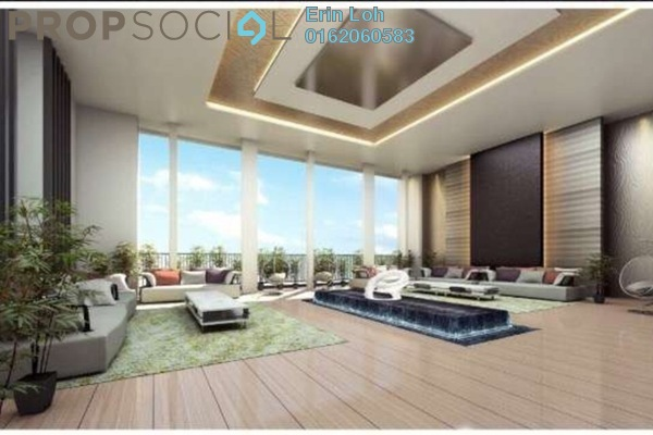 For Sale Serviced Residence at Epic Residence, Bandar Bukit Puchong Freehold Semi Furnished 1R/1B 430k