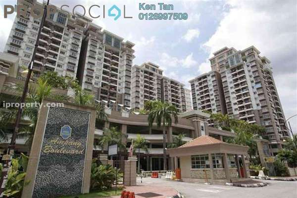 For Rent Condominium at Ampang Boulevard, Ampang Leasehold Fully Furnished 3R/2B 1.8k