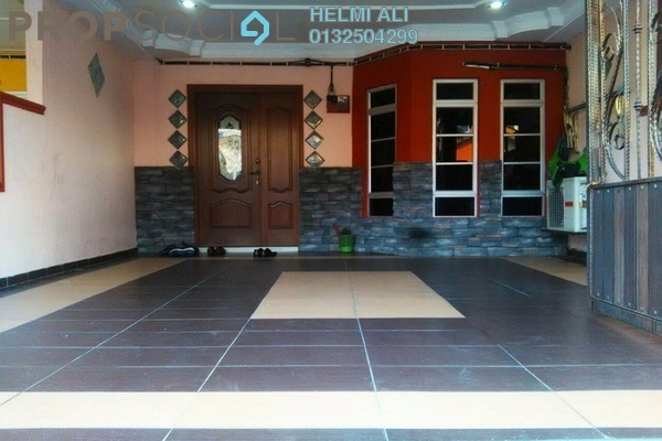 For Sale Terrace at Taman Serendah Makmur, Serendah Leasehold Semi Furnished 4R/3B 330k