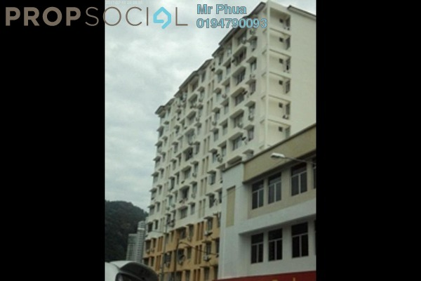 For Rent Apartment at Permai Ria, Tanjung Bungah Freehold Fully Furnished 3R/2B 1.2k