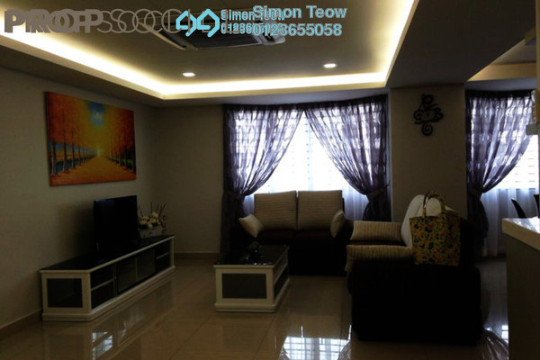 For Rent Serviced Residence at Main Place Residence, UEP Subang Jaya Freehold Fully Furnished 3R/2B 2.8k